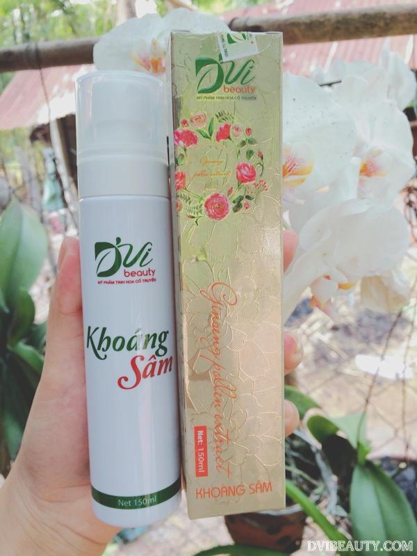 Khoáng Sâm D'Vi Beauty